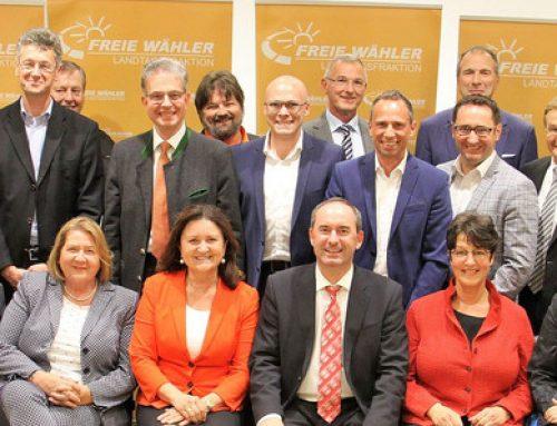 Konstituierende Sitzung der FREIEN WÄHLER im Bayerischen Landtag